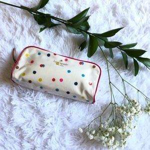 Kate spade cosmetic pouch bag
